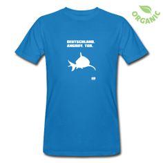Männer Bio-T-Shirt T-Shirt aus ökologischer Herstellung, für Männer, 100% Baumwolle, Marke: Continental.
