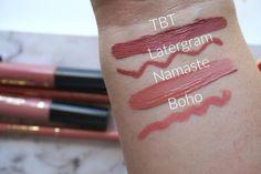 sephora australia tarte cosmetics creamy lip paints creamy lip crayon latergram tbt namaste and boho