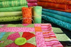 Vendo telas para patchwork miniprint 100% algodon - milan