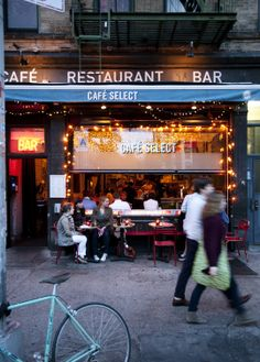 Cafe' Select  212 Lafayette St    Good place to meet for lunch while shopping soho lower east side etc WW 3/13