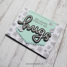 Cuddles & Hugs stamp set by Concord & 9th