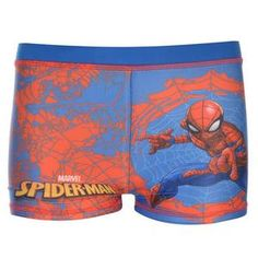a961129eb6 Boys Spiderman Swimming Trunks Shorts Pants Ages 2 through to 10 New With  Tag