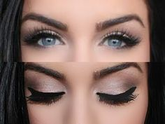 neutral smokey eye makeup - Google Search