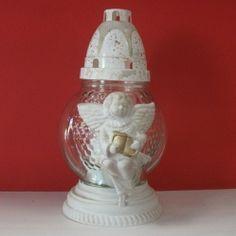 candela cu lumanare Jar, Home Decor, Decoration Home, Room Decor, Home Interior Design, Jars, Glass, Home Decoration, Interior Design