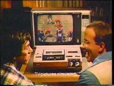 Panasonic VHS Videocassette   1978 TV commercial for the Panasonic VHS videocassette player/recorder