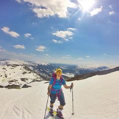 Skikkelig skisommer i Silkedalen  foto @maksnes #utno #telemark #norway by utno