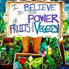 The power of Fruit & Vegetables! #healthy #health #nutrition #nutrients