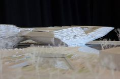 kengo kuma design for V&A at dundee gets planning green light, making the first victoria & albert museum to be constructed outside of london realizable. V & A Museum, Kengo Kuma, The V&a, Victoria And Albert Museum, Dundee, Design Museum, Architectural Models, How To Plan, Architecture