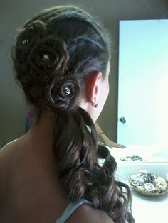 My hair for prom :)