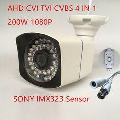 ahd cvi tvi 4 in 1 Analog High Definition Surveillance OSD  mini Camera AHD-H 2MP 1080P AHD CCTV Camera Security Outdoor/indoor