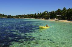 Fiji. I've always wanted to Kayak here.