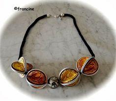 FRANCINE BRICOLE : Collier Nespresso : les capsules rouges (ou dorées) font de l'effet ...