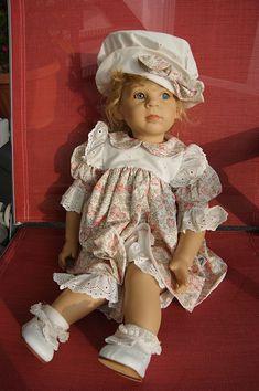 Götz Künstlerpuppe 339 - 18 Lison 57 cm Puppe von Elisabeth Lindner neuwertig