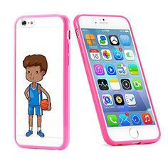 Popular Apple iPhone 6 or 6s Basketball Male Baller Player Cute Gift for Teens TPU Bumper Case Cover Mobile Phone Accessories Hot Pink MonoThings http://www.amazon.com/dp/B017HQYZHS/ref=cm_sw_r_pi_dp_tS9nwb0ECC5JE