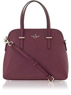 Kate Spade maroon bag