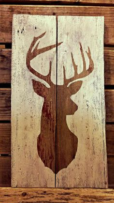 Barnwood Sign - Deer Silhouette Deer Silhouette Barnwood Sign Always wanted to discover how to knit, but unclear where do you start? This specific Utter.