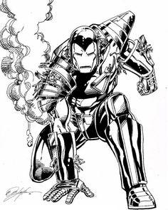 Iron Man by Bob Layton