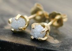 rough diamonds- unique and pretty♥