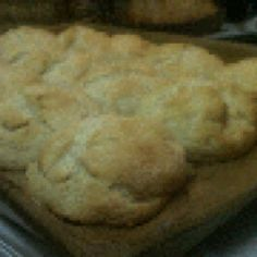 The best biscuits in the world! 4 c pioneer baking mix, 8 oz sour cream, and 8 oz sprite. Form biscuits, bake at 400 for 20 minutes. The best! A staple at our house Biscuit Recipe, Sour Cream, Make It Simple, Breads, Biscuits, Muffins, Rolls, Baking, Easy