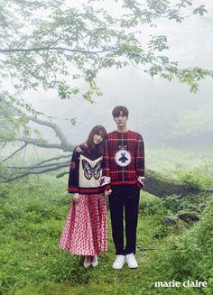 Gu Hye Sun & Ahn Jae Hyun - Marie Claire May '16 Issue