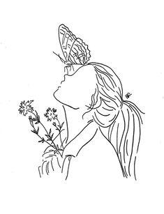 Super Minimalist Line Art Wallpaper Ideas Minimalist Drawing, Minimalist Art, Art Drawings Sketches, Easy Drawings, Tattoo Drawings, Tattoo Sketches, 22 Tattoo, Dress Sketches, Tattoo Small
