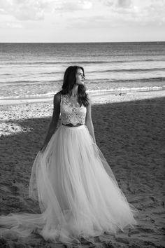 Wedding Bridal Dress // Crop Top // Lihi Hod Wedding Dress Collection | Bridal Musings Wedding Blog 32