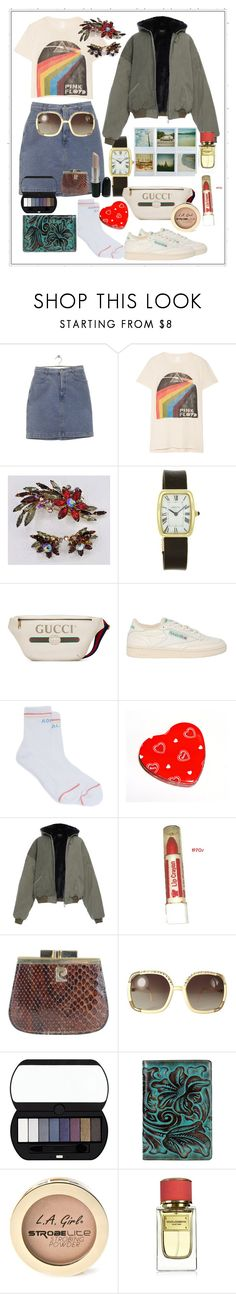 """Good memories"" by tinakriss ❤ liked on Polyvore featuring MadeWorn, Cartier, Gucci, Reebok, Mother, Polaroid, Pierre Cardin, Ted Lapidus, Bourjois and Patricia Nash"