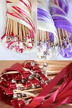 Accessoires - Wedding Wands - Hochzeit Accessoires - Glückstäbe - ein Designerstück von MrsFarbenfroh bei DaWanda