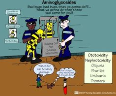 Aminoglycosides mnemonic