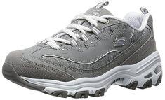 Skechers #Sport #Women's D'Lites Memory Foam Lace-up #Sneaker |