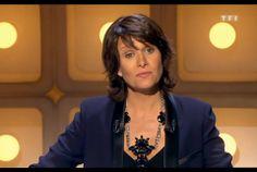 """Carole Rousseau - présentatrice de l'émission """"Le Grand Concours des Animateurs"""" sur TF1 ! #reminiscenceparis #bijoux #carolerousseau #giuliapricca"""