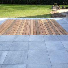Terrasplanken in Cumaru Patio, Backyard, Outdoor Spaces, Outdoor Decor, Sidewalk, Pergola, Home Decor, Gardens, Garden Landscaping