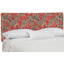 Fitzgibbon Linen Upholstered Panel Headboard
