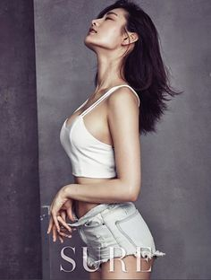 After School 애프터스쿨 Nana 나나 shares her secrets to take care of his body with SURE magazine