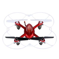 Amazon.com: Syma X11C RC Quadcopter with Camera and LED Lights - Red: Toys & Games