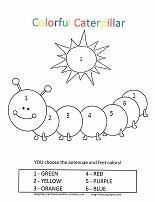 Caterpillar Coloring Pages Printable Preschool Numbers Preschool, Free Preschool, Preschool Printables, Preschool Worksheets, Preschool Learning, Preschool Activities, Spring Coloring Pages, Coloring Pages For Kids, Coloring Books