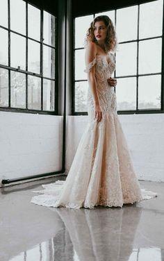 Sorella Vita Bridesmaid Dresses, Designer Bridesmaid Dresses, Designer Dresses, Bridesmaid Gowns, Fit And Flare Wedding Dress, Fit N Flare Dress, Gorgeous Wedding Dress, Lace Wedding, Dream Wedding