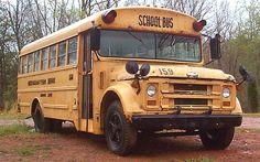 1972 Chevrolet School Bus