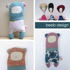 beeb design found on papernstitchblog.com