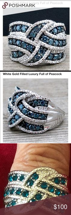 9563cc9452cc5 14 Best peacock ring images in 2017 | Peacock ring, Peacock, Rings