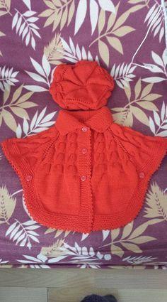 Crochet Fast And Easy Star Stitch Baby Poncho - desktop