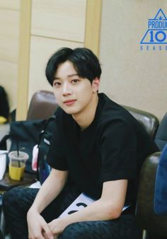 black, wanna one, and produce 101 image Produce 101, Ong Seung Woo, Guan Lin, Boy Celebrities, Lai Guanlin, Rapper, Kim Jaehwan, Ha Sungwoon, Kdrama