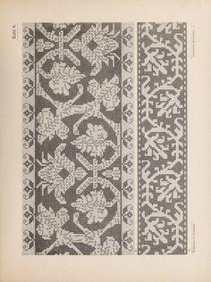 Gallery.ru / Фото #43 - Musterbucher altitalienischer Leinen Stickerei 1881…