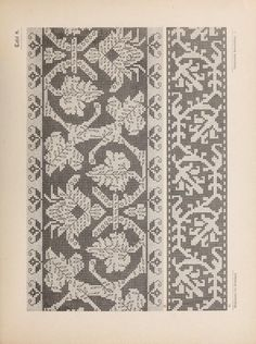 Gallery.ru / Фото #43 - Musterbucher altitalienischer Leinen Stickerei 1881 - shtushakutusha