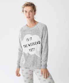 Weekend long-sleeve sweatshirt - New In - Autumn Winter 2016 trends in women…