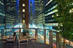 new york balcony at night - Google Search