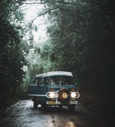 "Vanlife Magazine on Instagram: ""#ThisisVanlifeing Love driving this thing in the rain, especially around these types of areas, slow trinkle of water down the windscreen is…"" • Instagram"