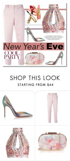 """NYE Dance Party"" by anja-pixie-jovanovic ❤ liked on Polyvore featuring Christian Louboutin, N°21, Zimmermann and Oasis"