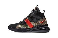 sports shoes 22544 5baaa nike air force 270 sneaker drop release date info colorway pattern  camouflage orange 2019 Air Max