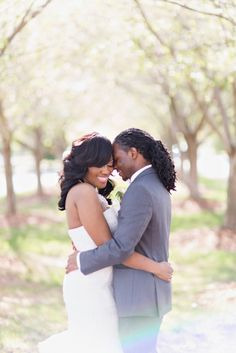 African American, Black Bride & Groom, Black Love - Black • L❤VE